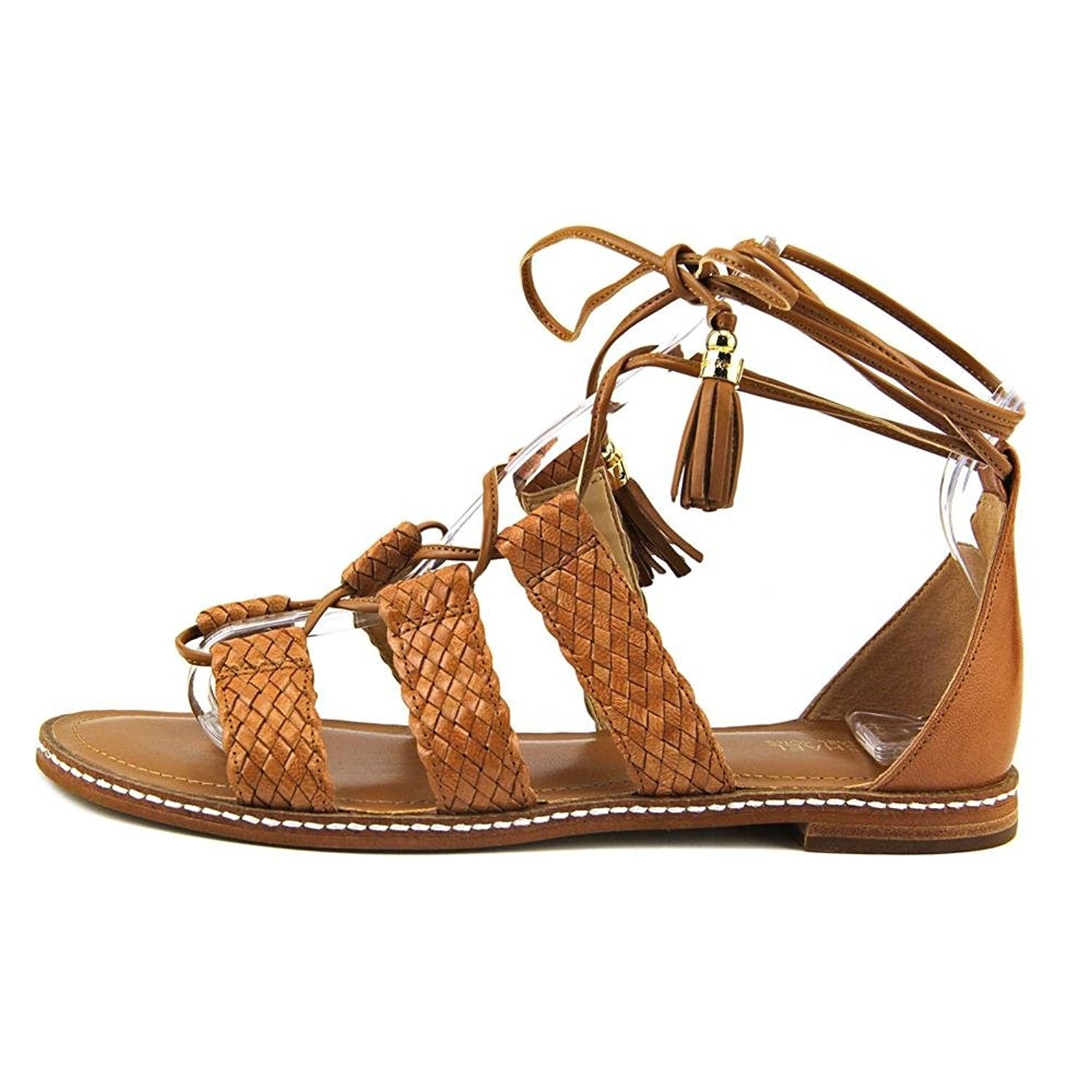 3b7fd0055354 Shop MICHAEL Michael Kors Monterey Gladiator Open Toe Leather Gladiator  Sandal - Free Shipping Today - Overstock - 20354423