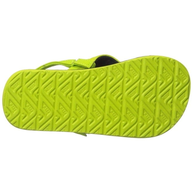 8e37f16f34d8 Shop Kids Reef Boys Grom Roundhouse Ankle Wrap Bungee Flip Flops - Free  Shipping On Orders Over  45 - Overstock - 27279114