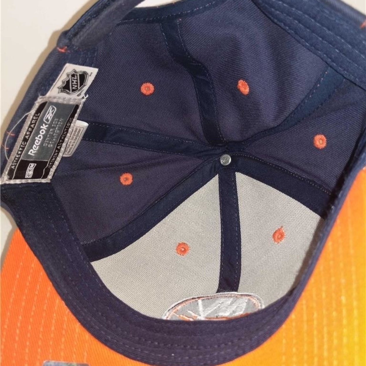 d41e2a2406803b Shop NY Islanders Mens Size Osfa Reebok Gray Blue Adjustable Cap Hat - Free  Shipping On Orders Over $45 - Overstock - 23063975