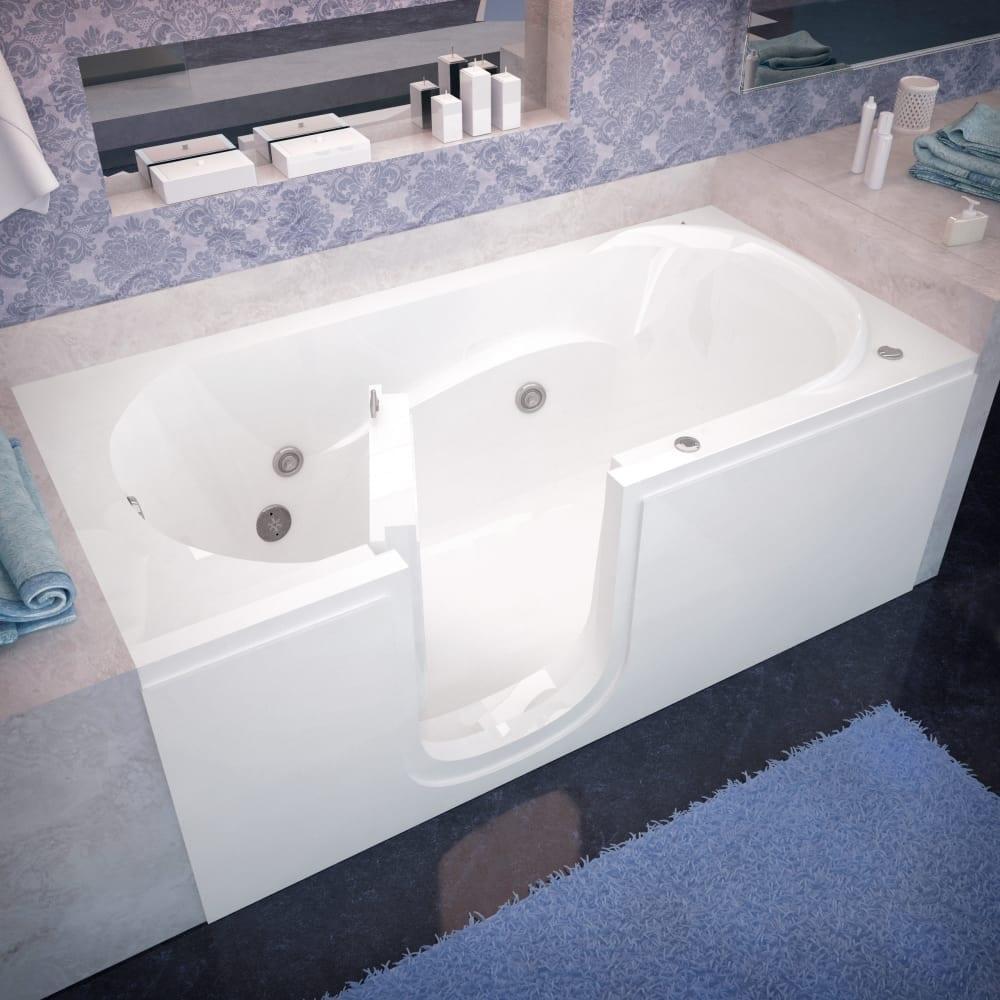 Shop Avano AV3060SILH Step-In Tubs 59-5/8\