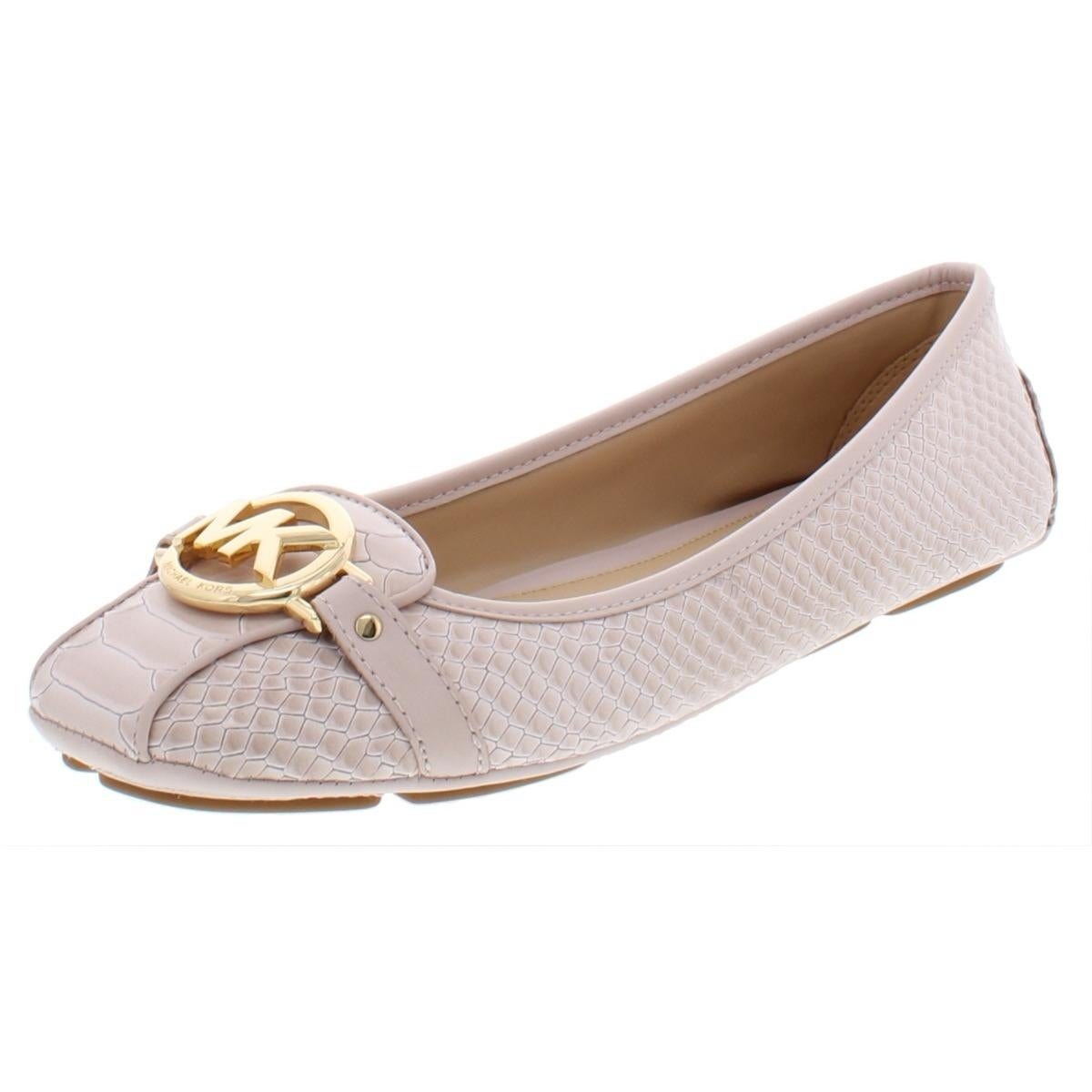 78657162a Shop MICHAEL Michael Kors Womens Fulton Moc Ballet Flats Embossed ...