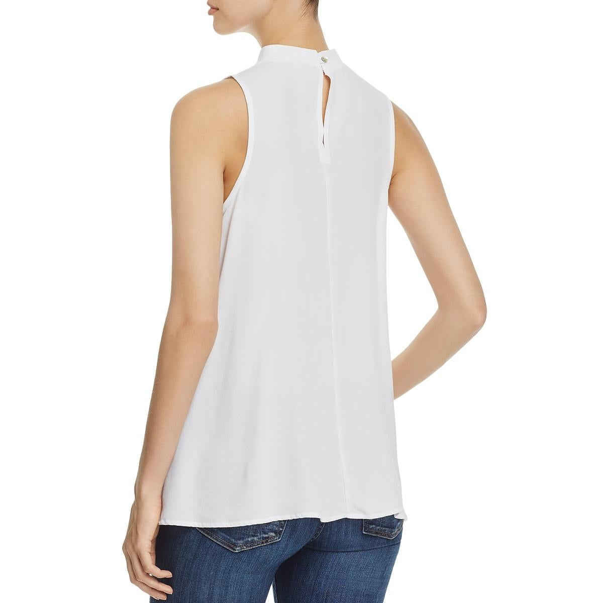 4cfd4f1518dd13 Shop Elan Womens Tank Top Choker V-Neck - Free Shipping On Orders Over  45  - Overstock.com - 20742060