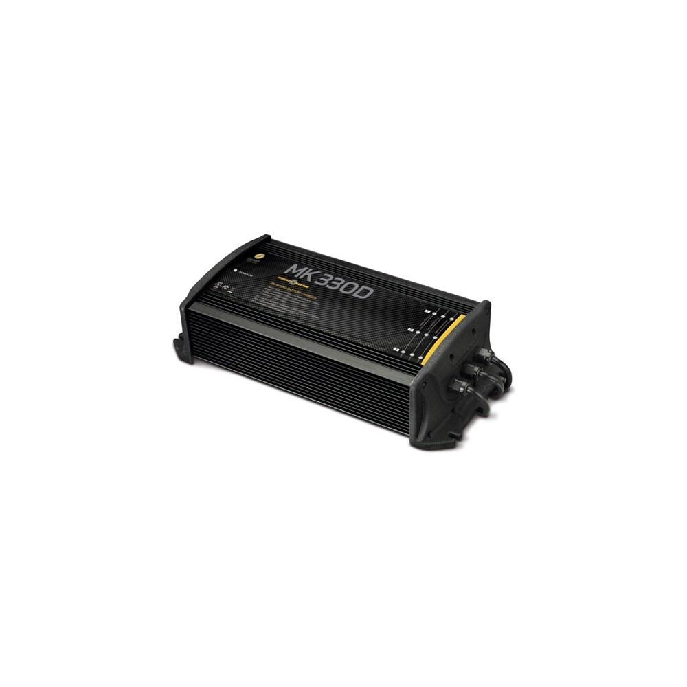 shop minn kota mk 330d 1823300 3 bank on board battery charger 30 rh overstock com