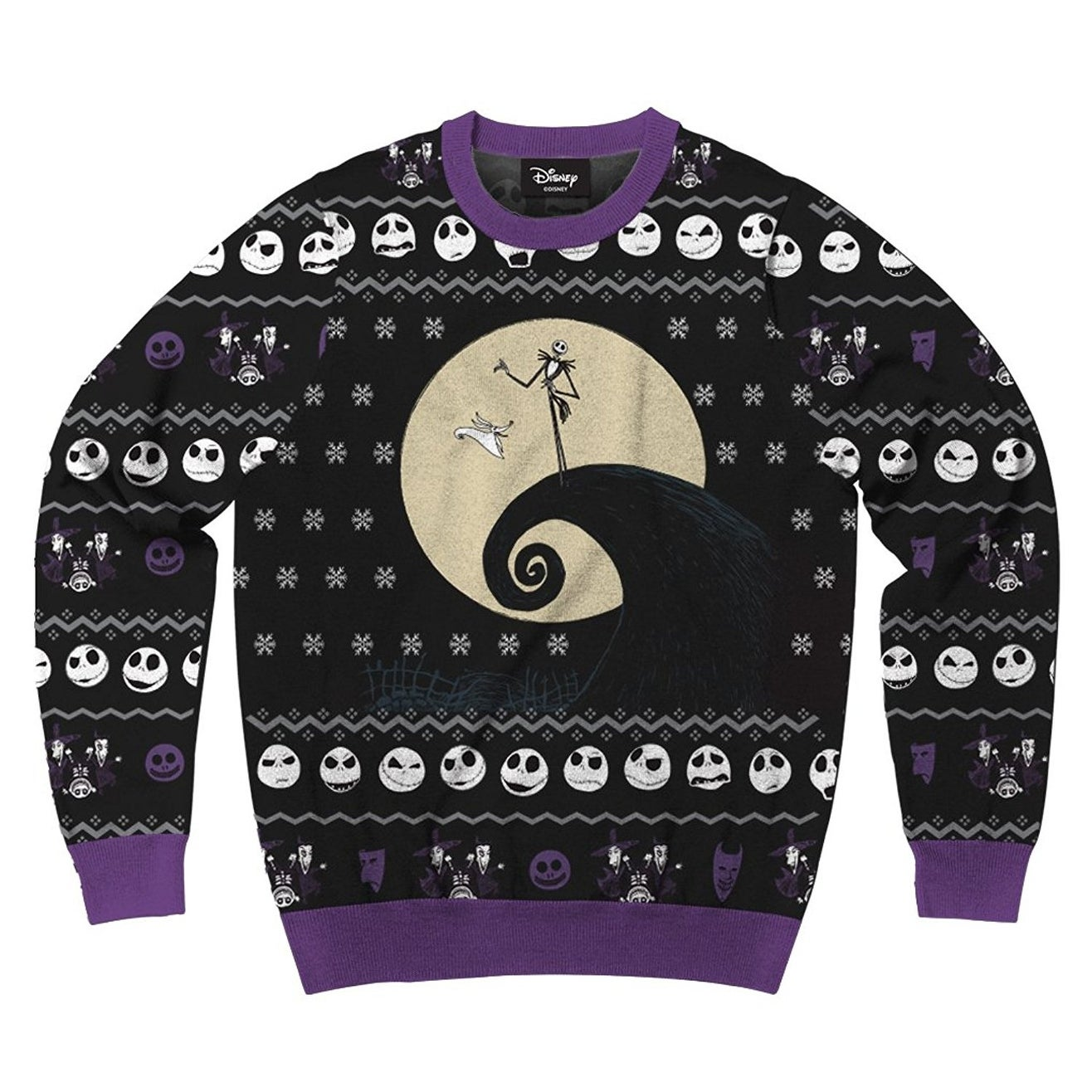 Shop Nightmare Before Christmas Classic Nightmare-1 Men\'s Ugly ...