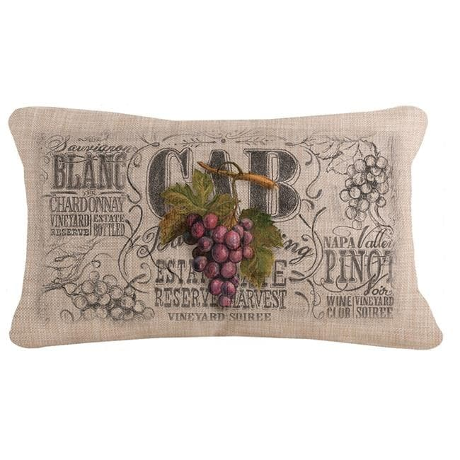 Heritage Lace WCO1220NA-1 12 x 20 in  Wine Country Pillow