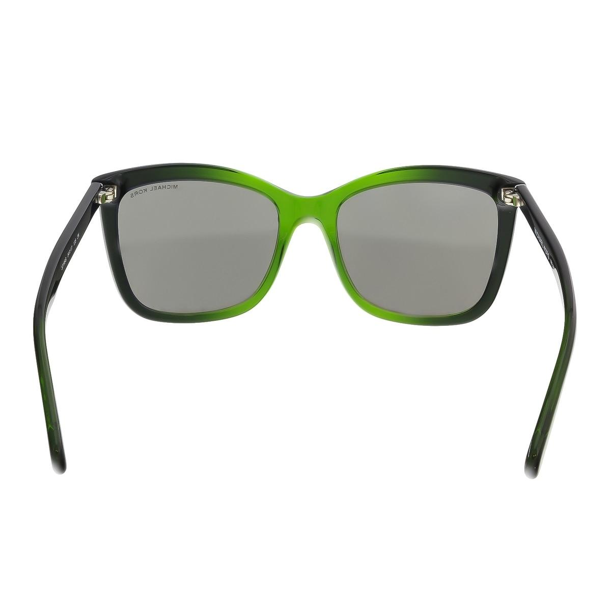75bcf2b583ccf Shop Michael Kors MK2039 32196G CORNELIA Green Gradient Square Sunglasses -  54-17-135 - Free Shipping Today - Overstock - 18182724