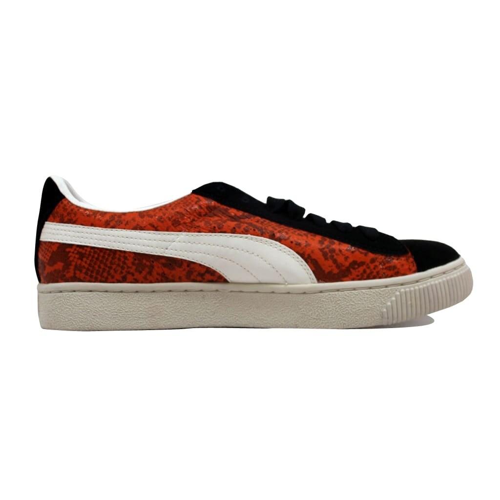 be21006d4fd36f Shop Puma Men s Reptile Lo Team Orange Black-Whisper 344199 02 - Ships To  Canada - Overstock.ca - 20139514