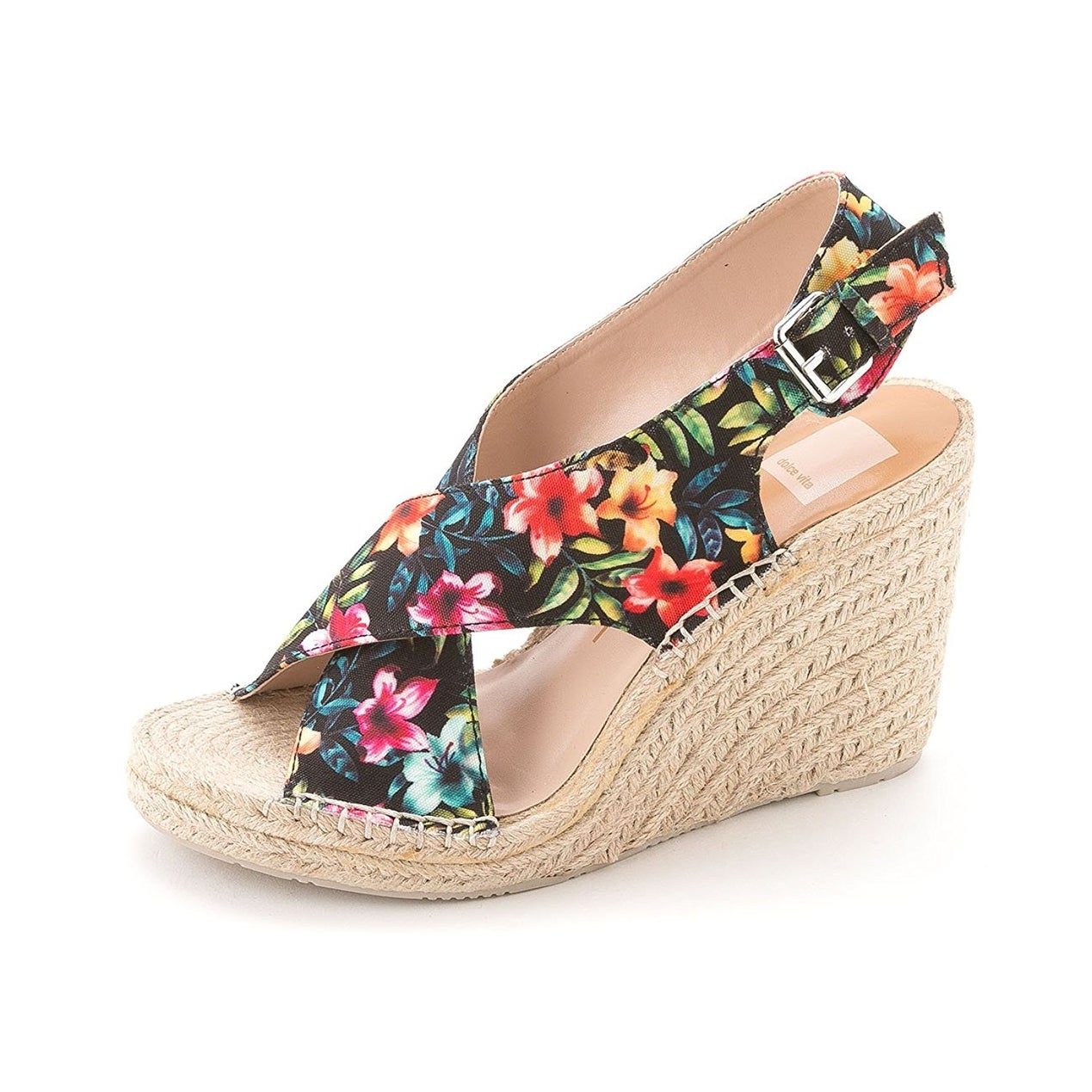 c728abdb0187 Shop Dolce Vita Womens Sovay Fabric Peep Toe Special Occasion Platform  Sandals - Free Shipping On Orders Over  45 - Overstock.com - 14527769