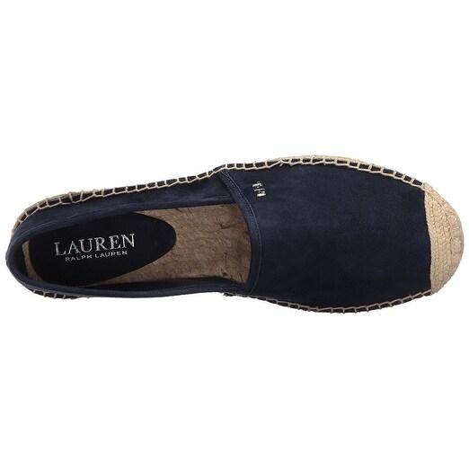 837522ddc20bd LAUREN by Ralph Lauren Womens Danita Leather Cap Toe