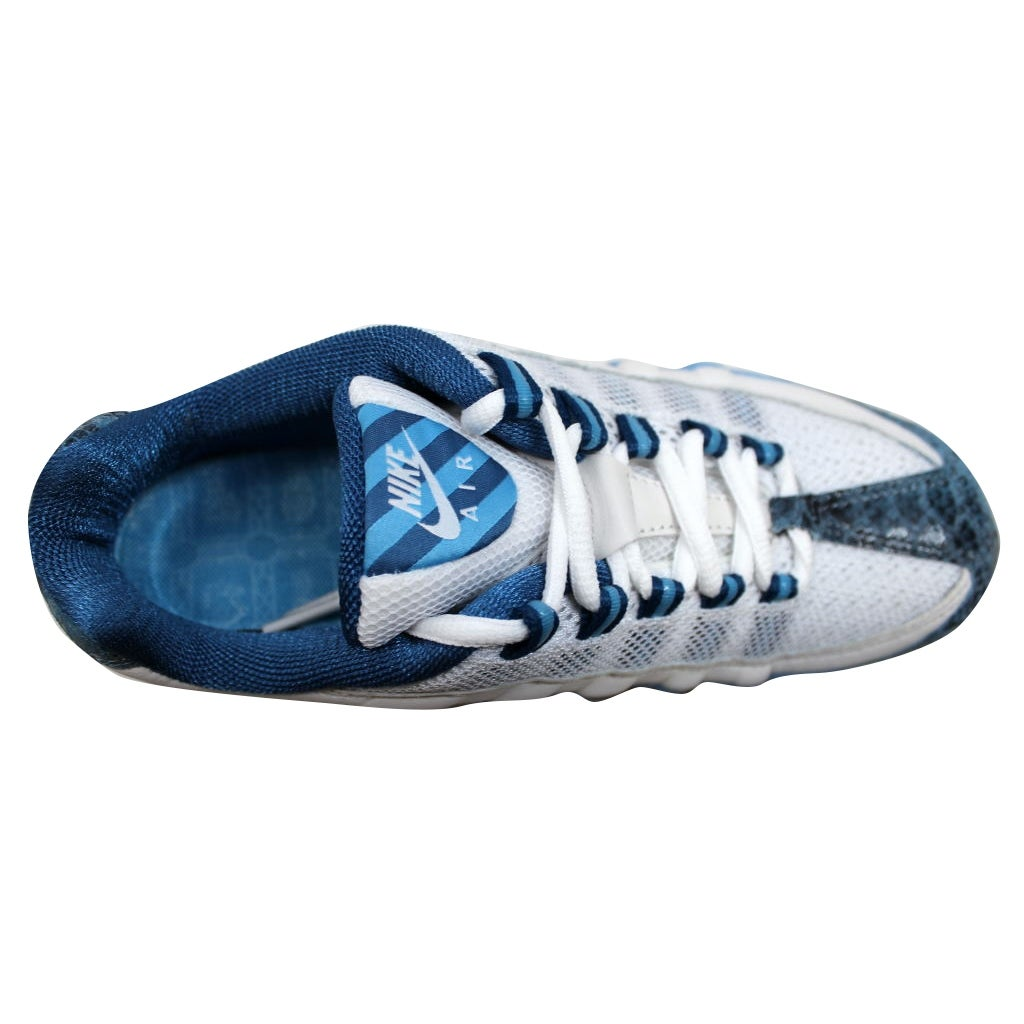Nike Women's Air Max 95 Zen WhiteBlue Blue Frost Ice Blue 313866 141 Shoe