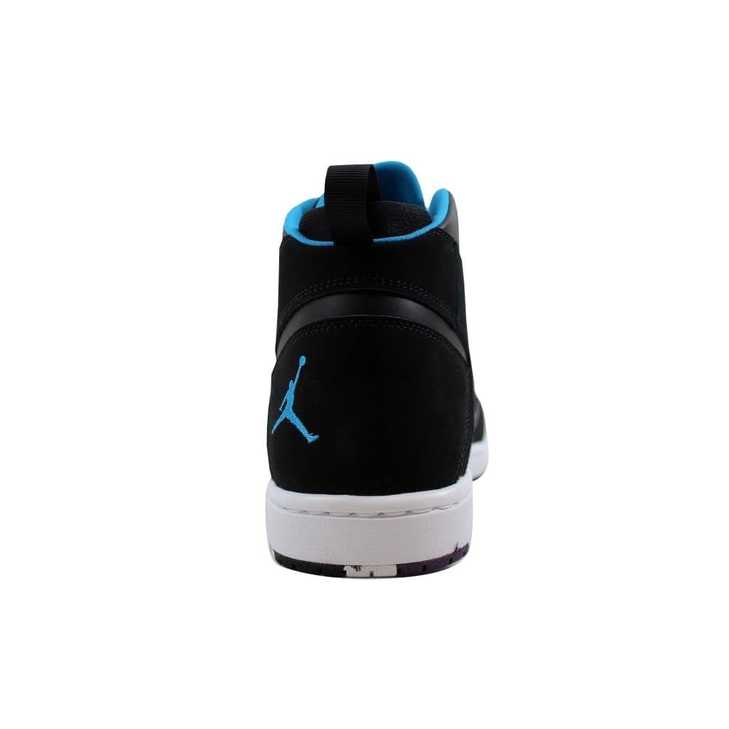 d98cbb385f41 Shop Nike Men s Air Jordan Flight Legend Black Blue Lacquer-White AA2526-005  - Free Shipping Today - Overstock - 21893598