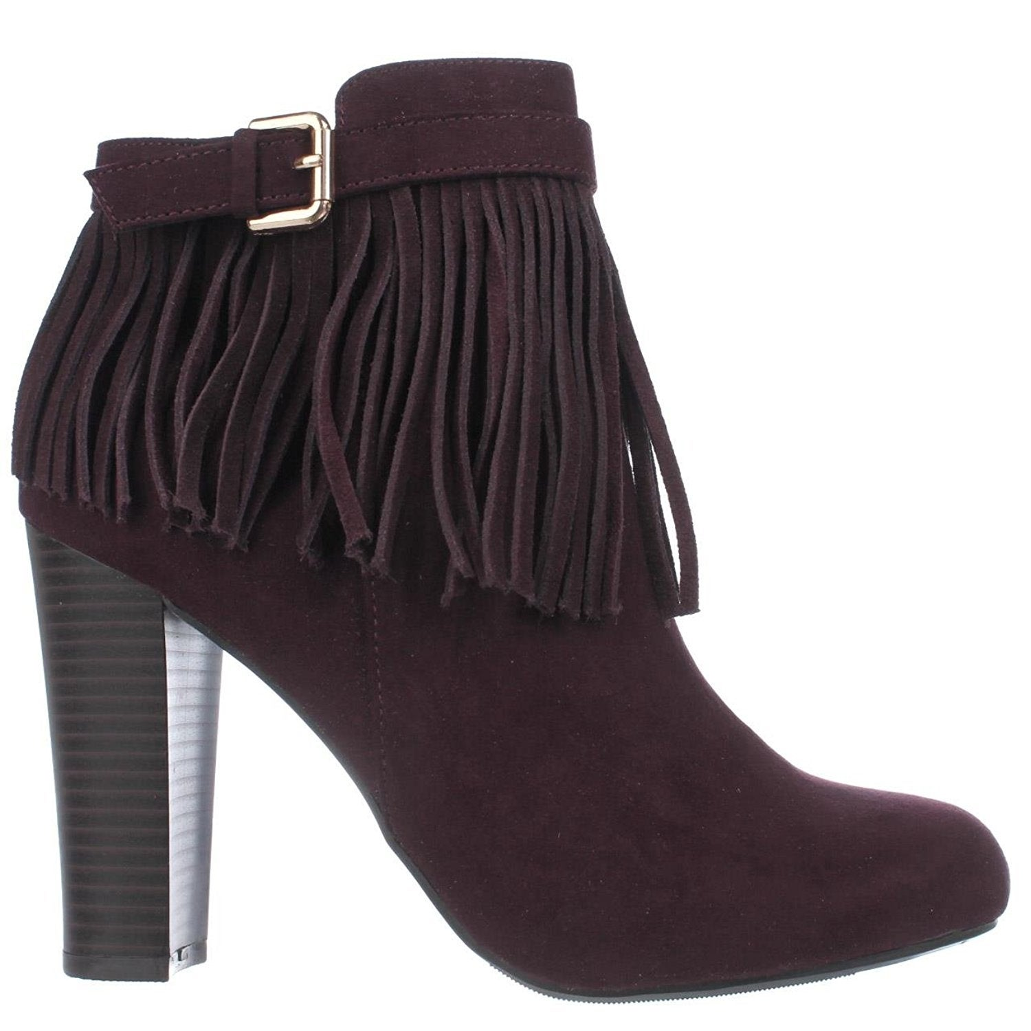 Womens Persia Suede Round Toe Ankle Fashion Boots