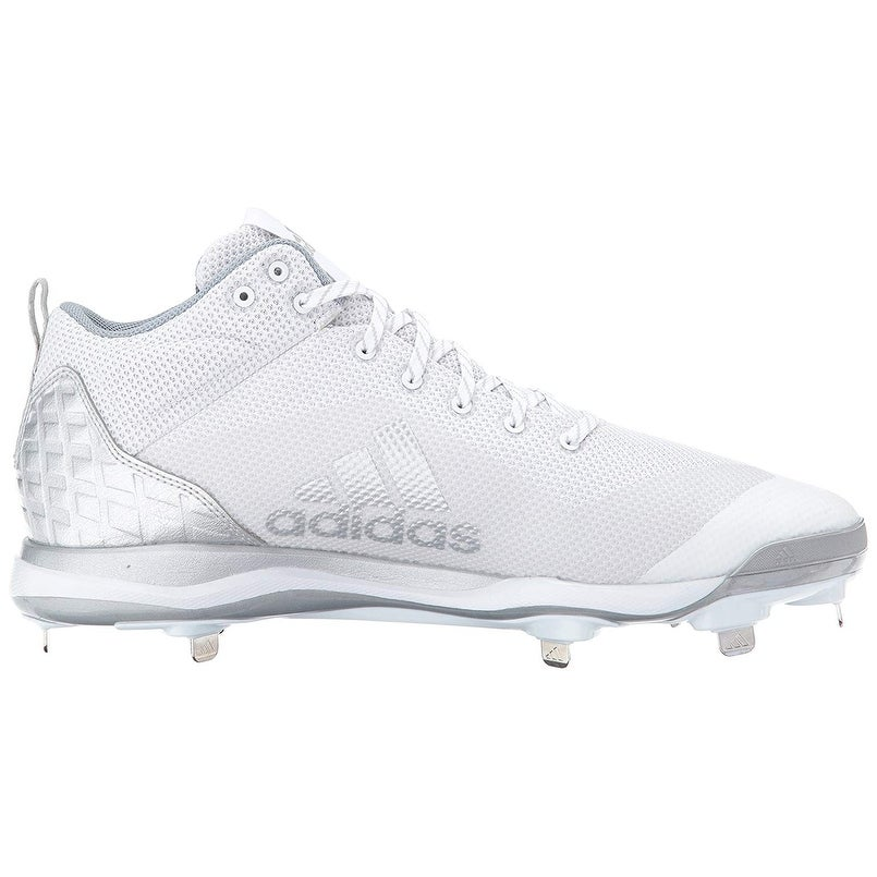 daa345ee0 Shop Adidas Mens POWERALLY 5 MID Low Top Lace Up Baseball Shoes - Free  Shipping Today - Overstock - 22810047