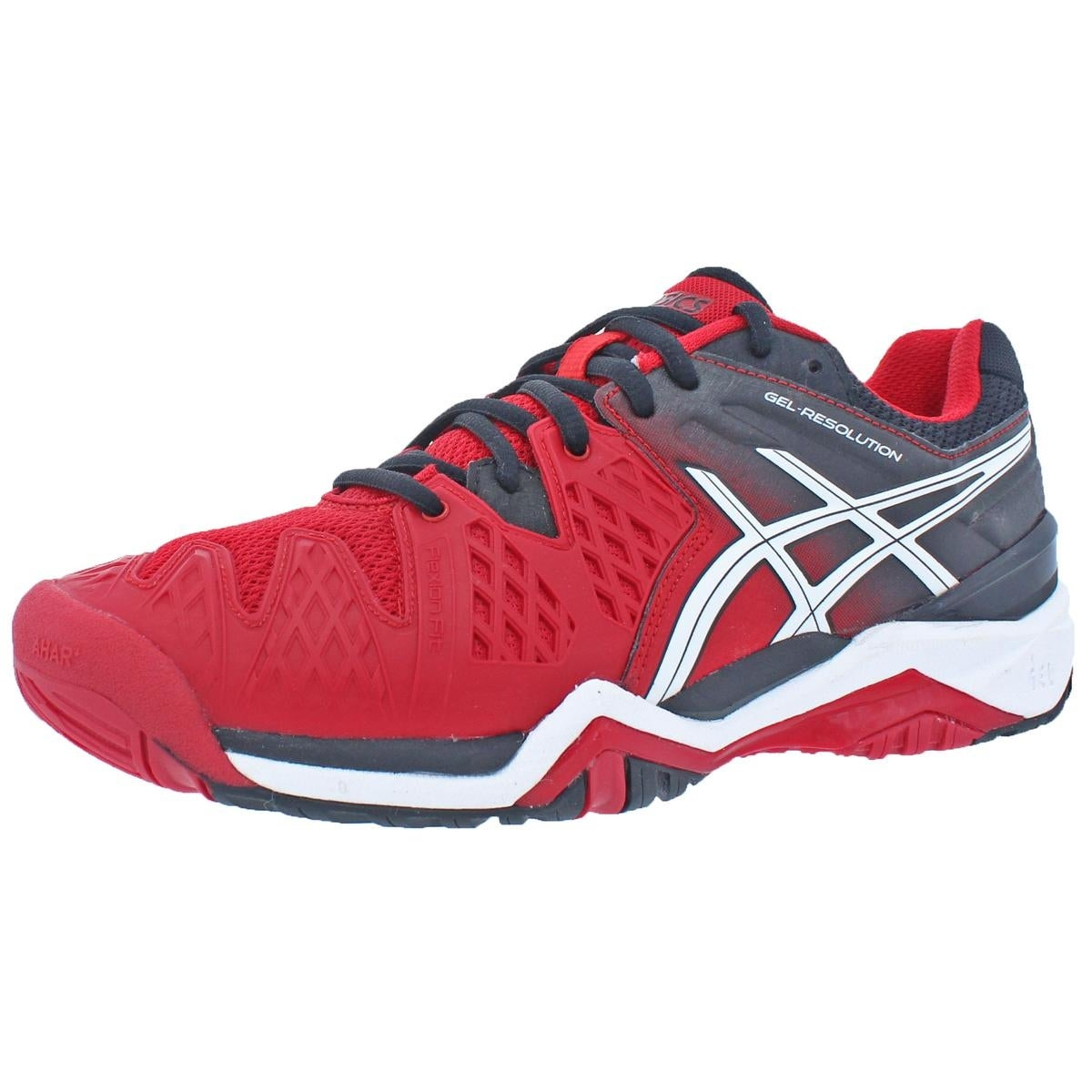 10665e1a54 Shop Asics Mens Gel-Resolution 6 Tennis Shoes Non Marking Flexion Fit - 6  medium (d) - Free Shipping Today - Overstock - 22358483