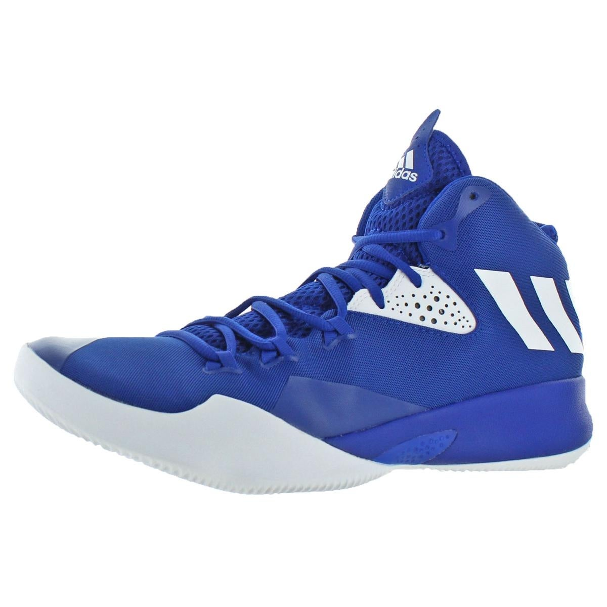 Shop Adidas Mens Dual Threat 2017 Basketball Shoes Trainer Performance -  10.5 medium (d) - Free Shipping Today - Overstock.com - 25460879 7a9253360