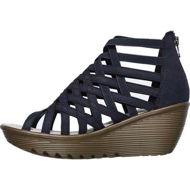 86ee4a9030 Shop Skechers Women's Parallel Dream Queen Wedge Sandal Navy - Free  Shipping On Orders Over $45 - Overstock - 20767146