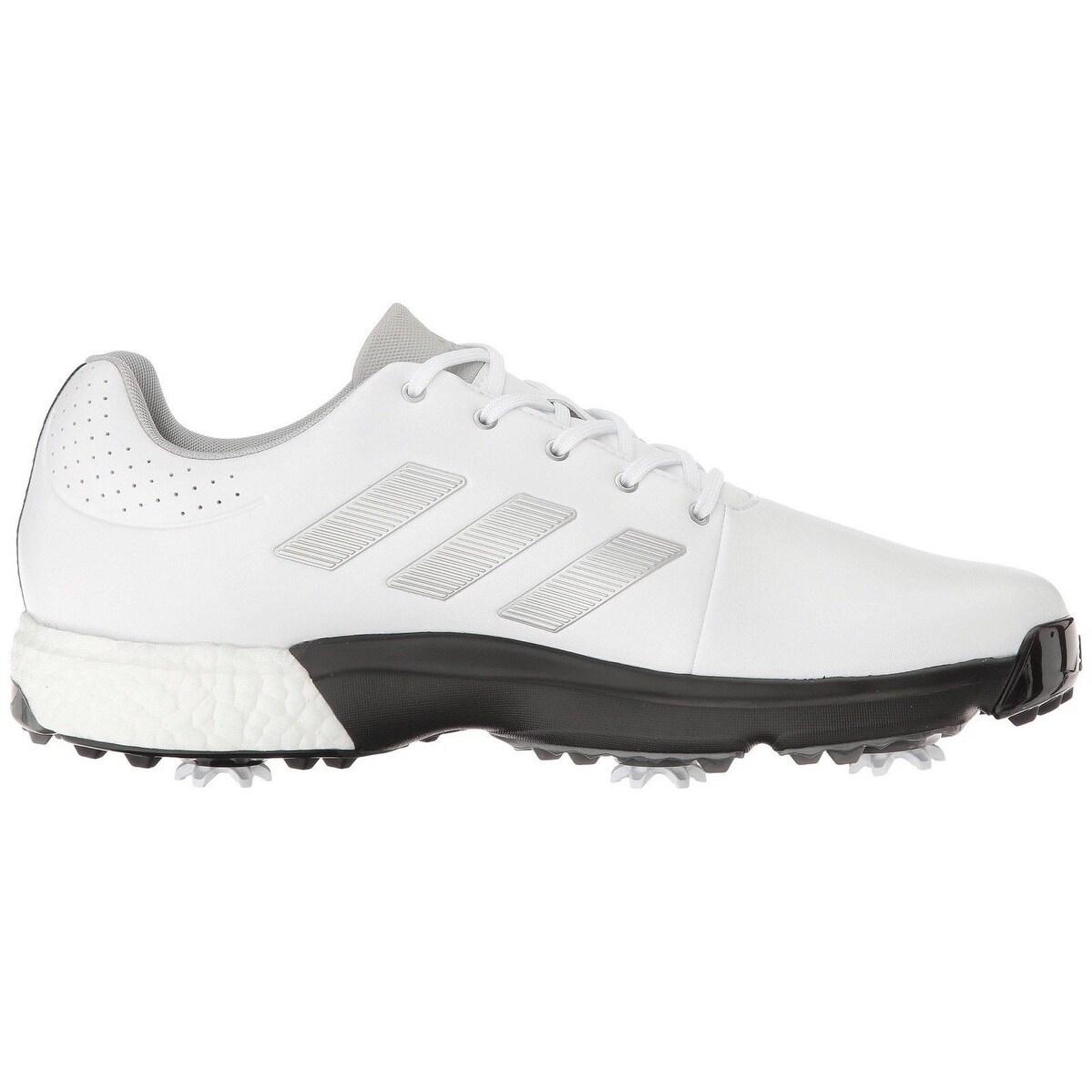 Negozio Adidas Uomini Adipower Spinta 3 / Argento Metallico Bianco / Nero A Golf