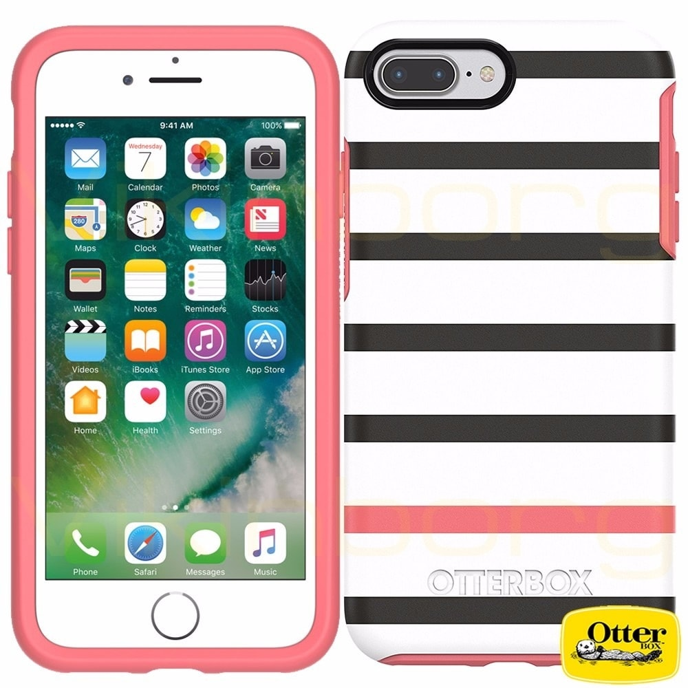 huge discount 94a43 0a94e Otterbox SYMMETRY SERIES Case for iPhone 8 & iPhone 7 - Newport - Black