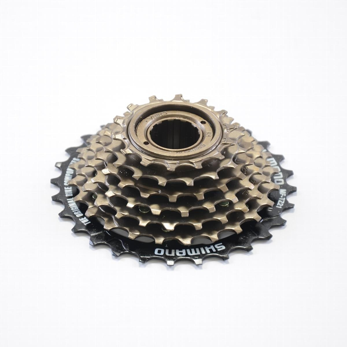 454167b2fc9 Shop Shimano Cycling Freewheel MF-TZ21 14-28 Teeth 7 Speed - 586417 - Brown  - Ships To Canada - Overstock - 18281195