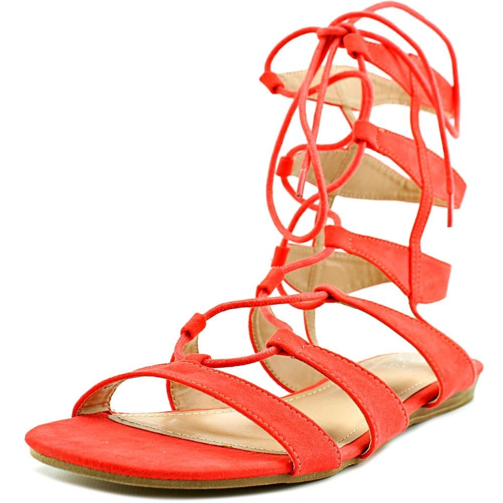 c3e5260c6 Shop G.C. Shoes Amazon Women Open Toe Synthetic Orange Gladiator Sandal -  Free Shipping On Orders Over  45 - Overstock - 15630369