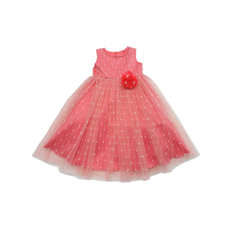ef1f80d6afa02 Coral Pink Flower Girl Dresses