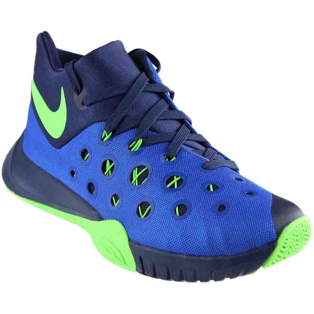 50c64c4c76a7d Shop Nike Mens Zoom Hyperquickness 2015 Basketball Athletic Shoes ...
