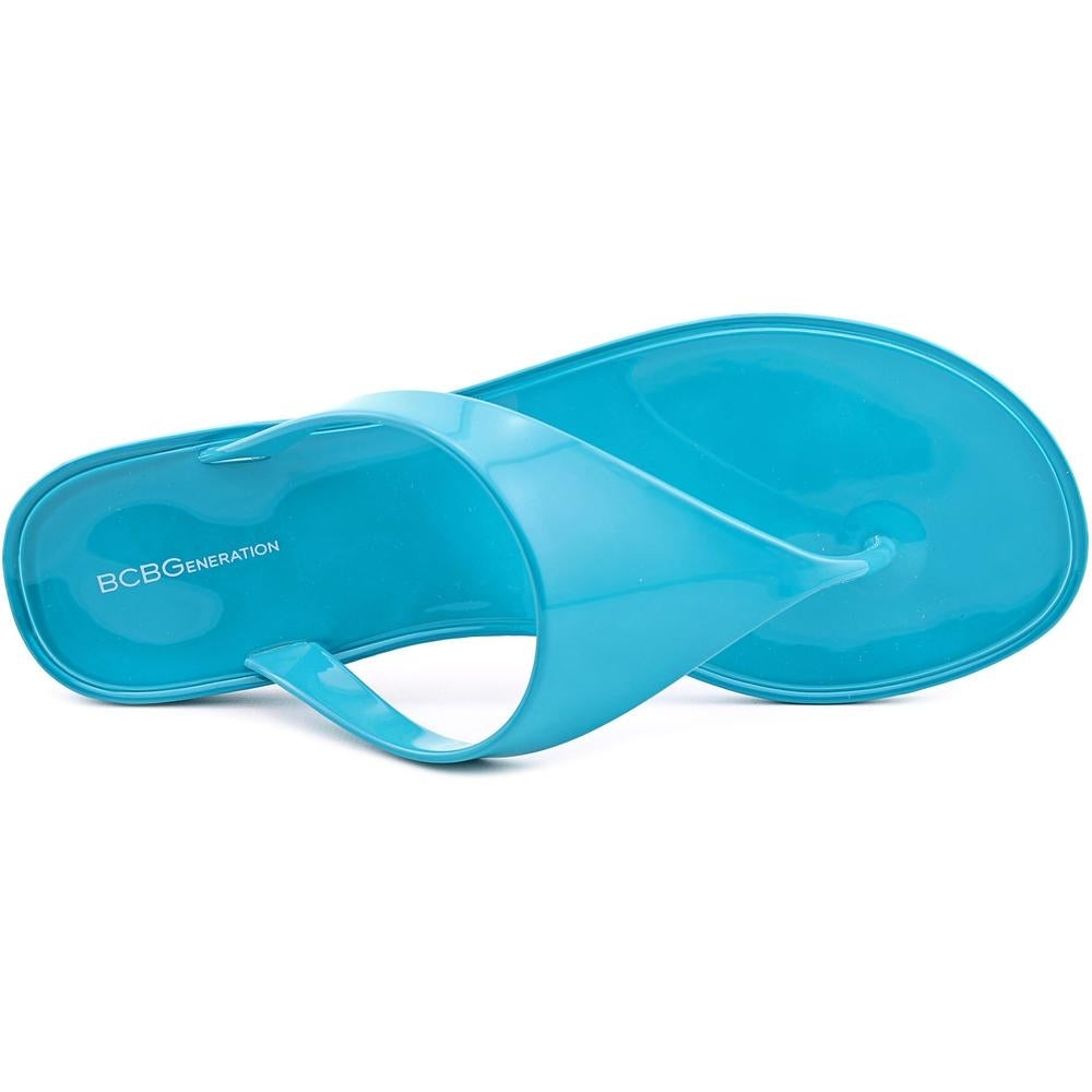 da815f12df41 Shop BCBGeneration Starr Flat Thong Sandals Women Synthetic Blue Thong  Sandal - Free Shipping On Orders Over  45 - Overstock - 14225271