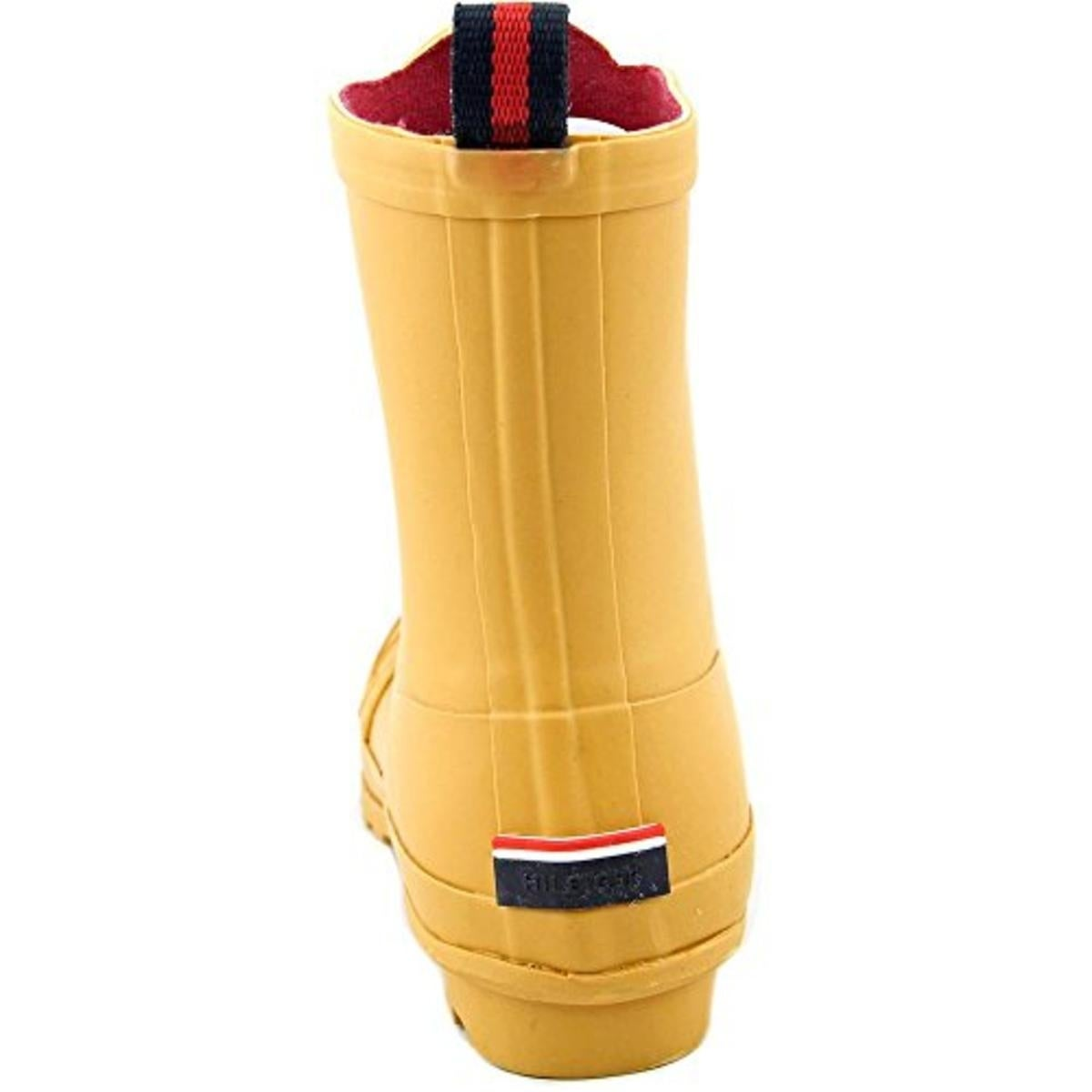 f5c63c9427b5 Shop Tommy Hilfiger Womens Ryann Rain Boots Rubber Front Zip - Free  Shipping Today - Overstock - 16806627