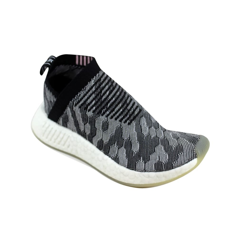 b13bc2fa7 Shop Adidas NMD CS2 Primeknit W Black Grey-Pink Women s BY9312 Size 5  Medium - On Sale - Free Shipping Today - Overstock - 27339649