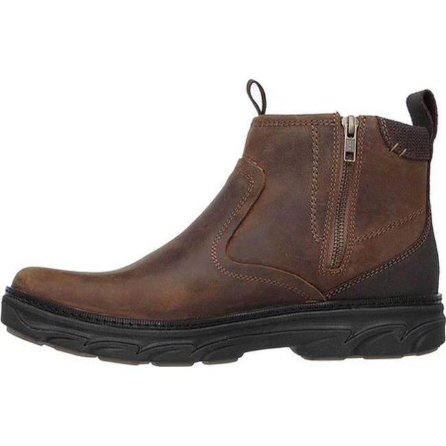 c428a4df6c2b3b Shop Skechers Men s Relaxed Fit Resment Korver Ankle Boot Brown - On Sale -  Free Shipping Today - Overstock - 12690334