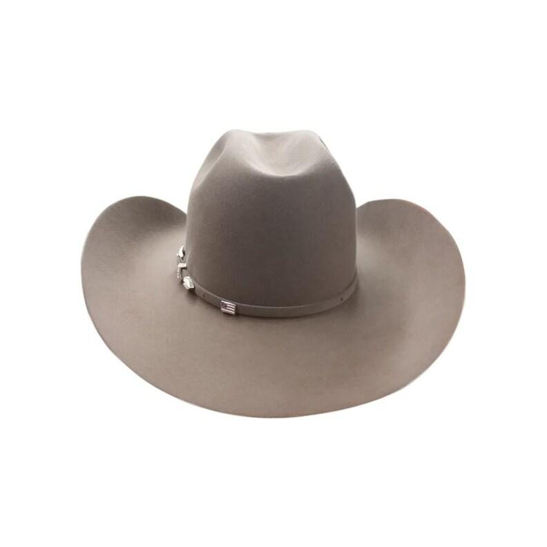 eec7a78c0699d Shop American Cowboy Hat Mens Felt Minneck 7X Cattleman - Free Shipping  Today - Overstock - 18767806