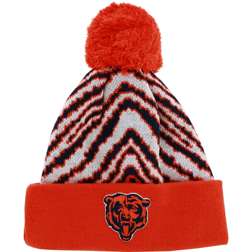 Shop NFL Chicago Bears Youth Hat Knit Winter Pom Beanie - Free Shipping On  Orders Over  45 - Overstock - 18682053 4e76f95b9
