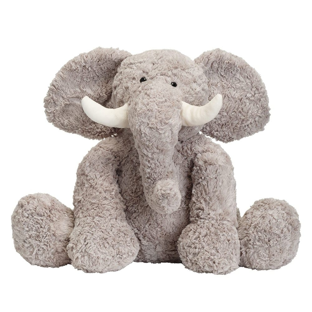 Shop Joon Bobo The Elephant Stuffed Animal Grey 15 Inches Grey
