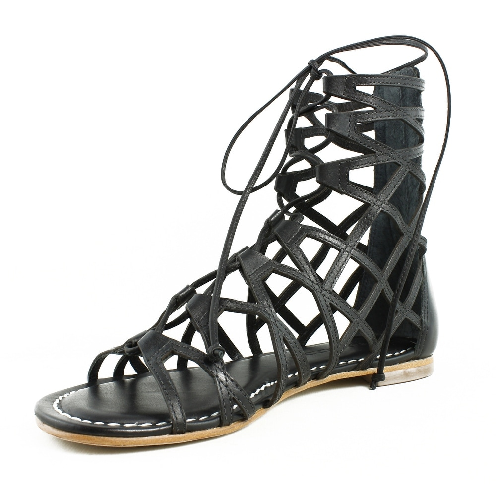 5ca55382229a Shop Bernardo Womens Willow Black Gladiator Sandals Size 6 - Free Shipping  On Orders Over  45 - Overstock.com - 22900022