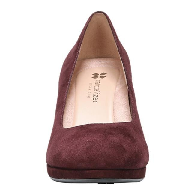 0ab4b584a62d Shop Naturalizer Women s Michelle Pump Bordo Suede - Free Shipping Today -  Overstock.com - 12152303