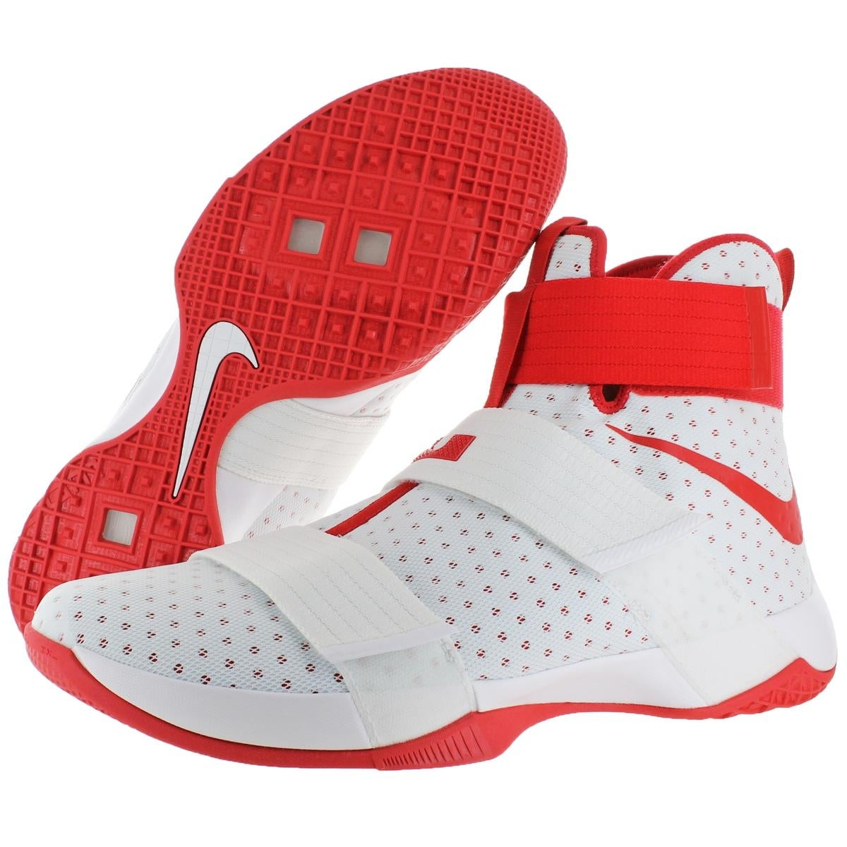 eafa13d2a5bf ... release date shop nike lebron soldier 10 mens mesh high top basketball  shoes white size 18