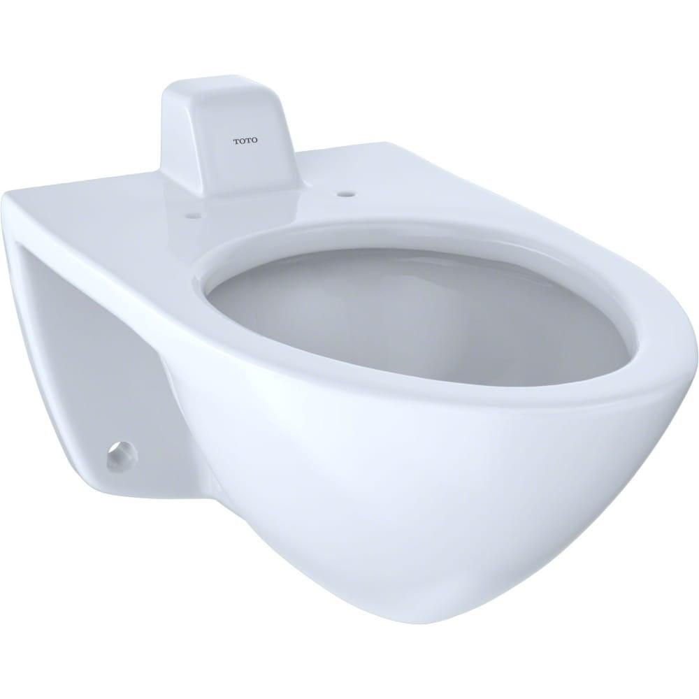 Shop Toto CT708UVG Commercial Wall-Hung Elongated Toilet Bowl Only ...