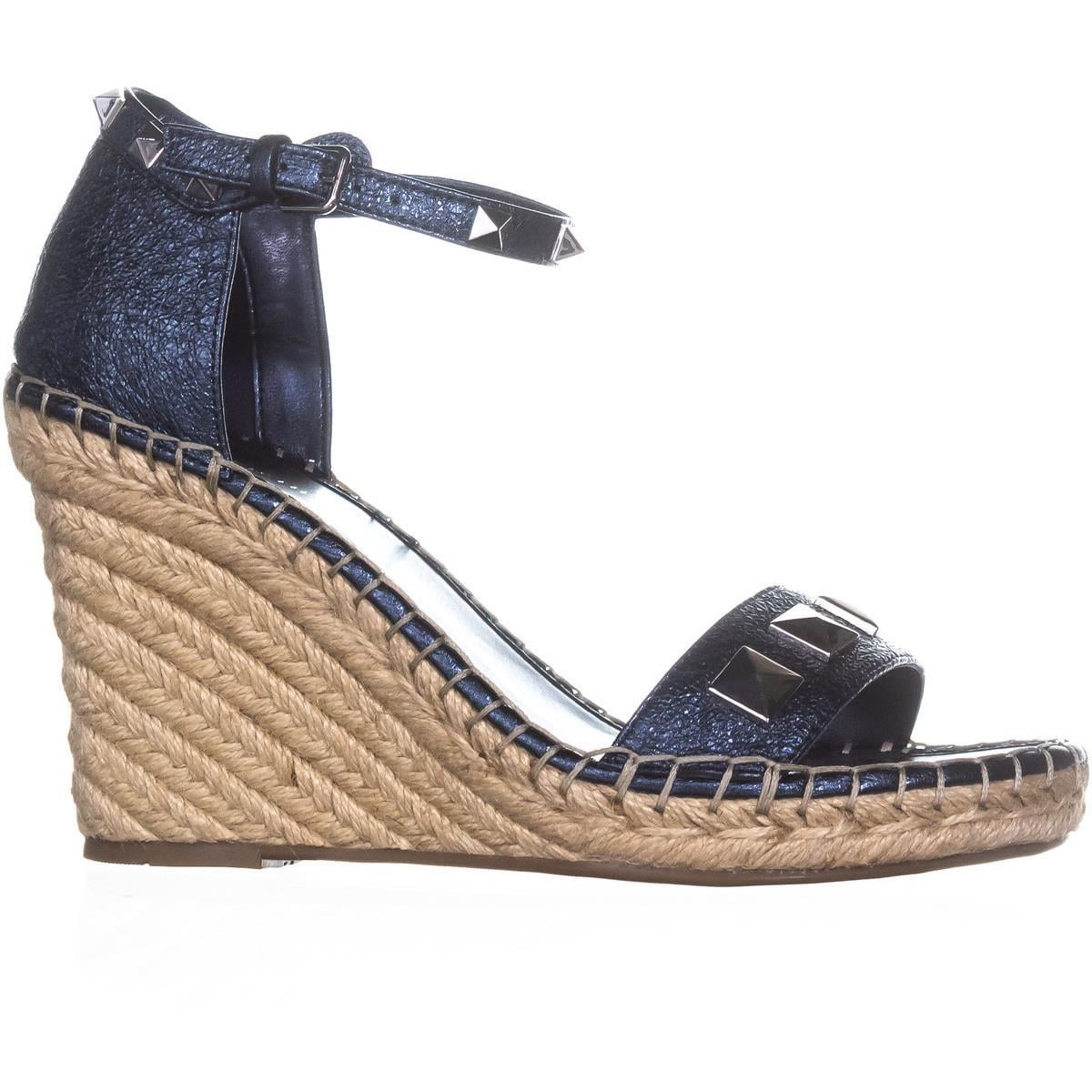 bb43f315e7d Shop Marc Fisher Knoll Studded Wedge Sandals