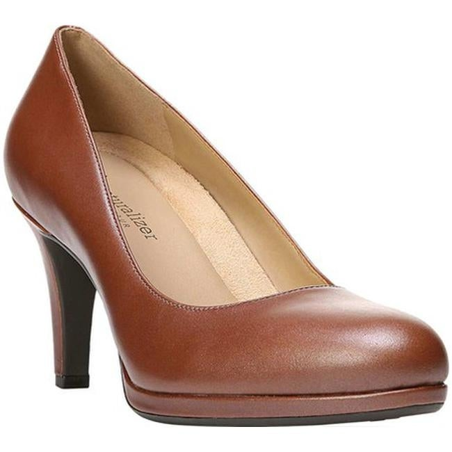 c0bdf46309b Naturalizer Women's Michelle Pump Caramel Leather