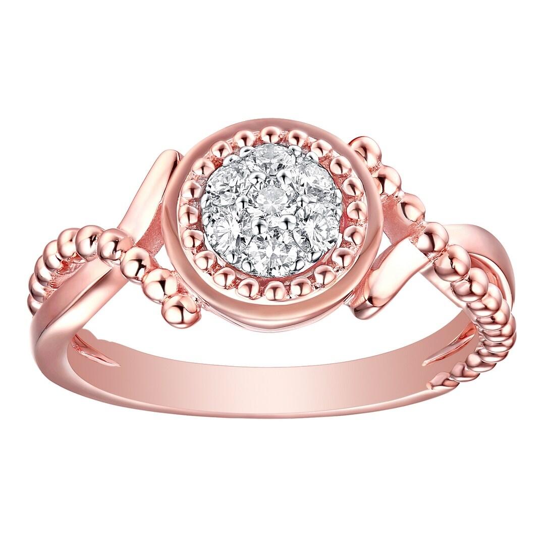 Shop Prism Jewel 0.24Ct G-H/SI1 Round Brilliant Cut Natural Diamond ...