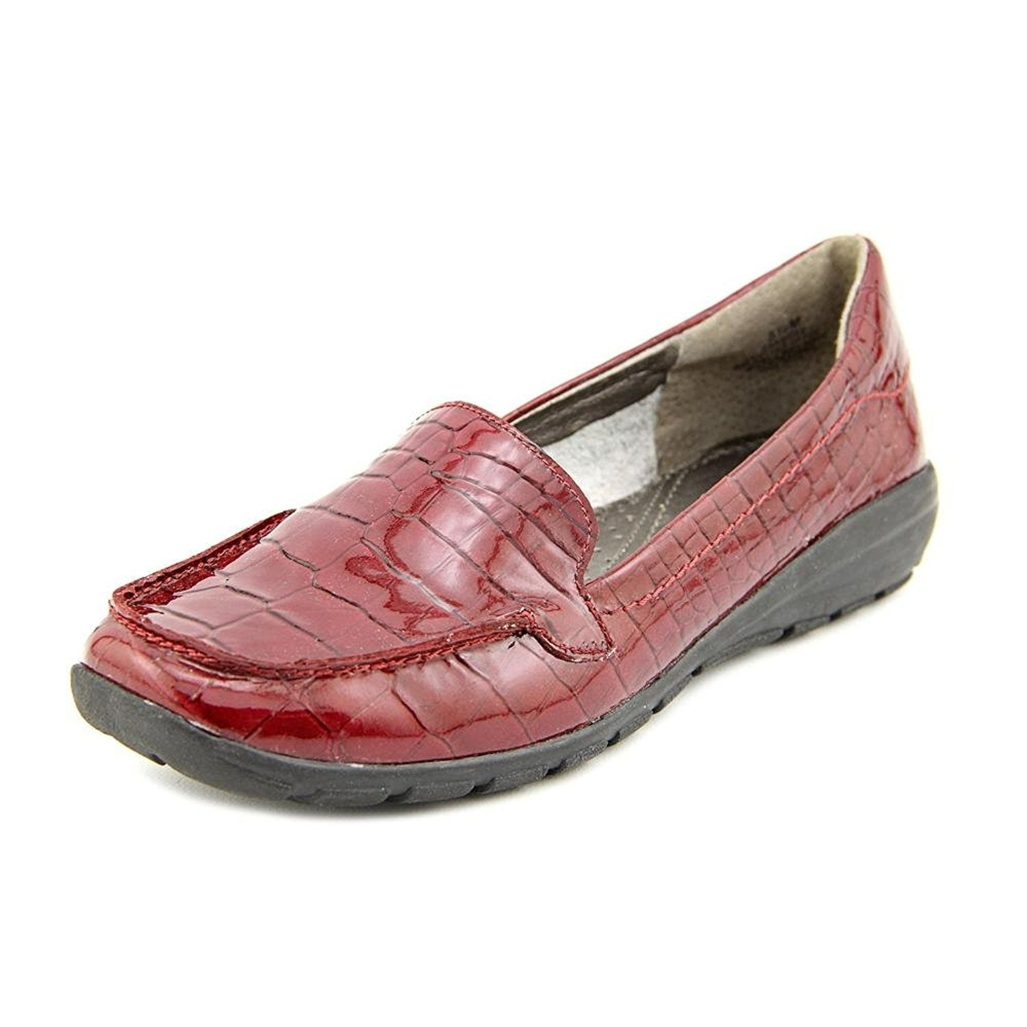 0b7b83a915e Shop Easy Spirit Womens Abide Leather Square Toe Loafers - Free Shipping On  Orders Over  45 - Overstock - 14528425