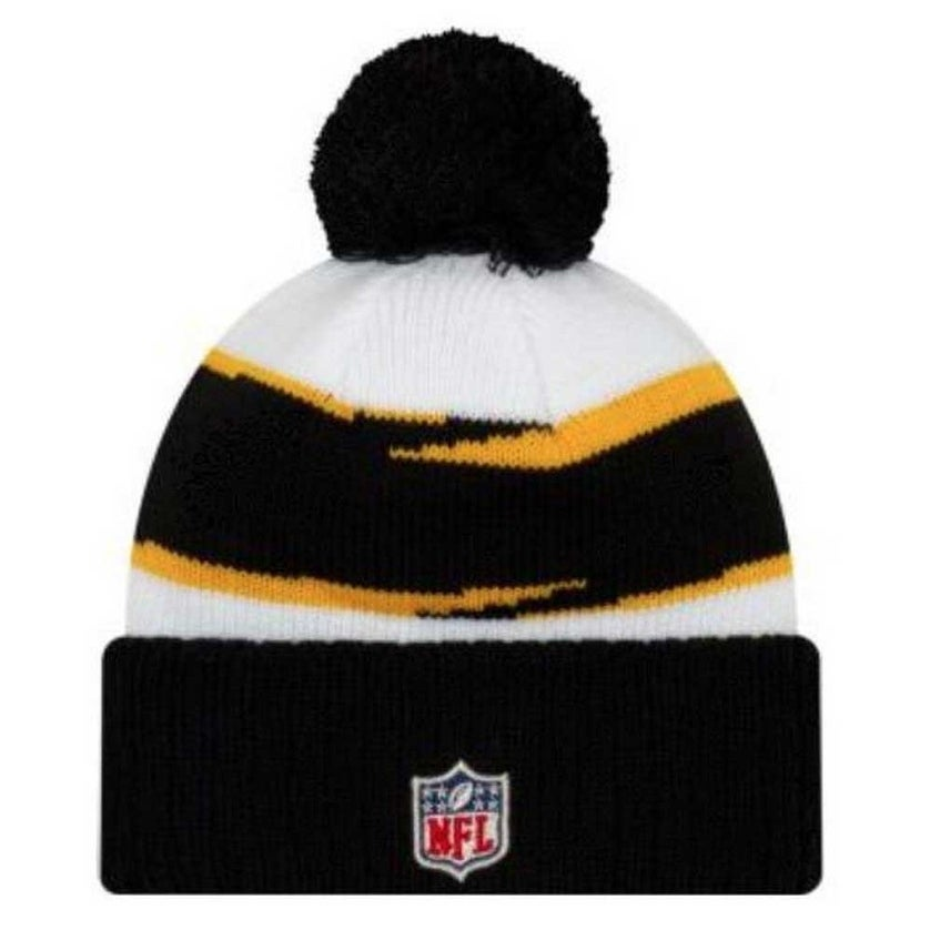 c6e948023 Shop New Era 2018 NFL Pittsburgh Steelers Thanksgiving Stocking Knit Hat  Beanie POM - Free Shipping On Orders Over $45 - Overstock - 25482350