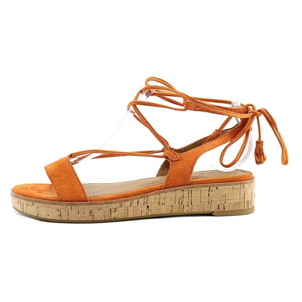 7f515fcbd36 Shop Frye Miranda Gladiator Women Open Toe Suede Orange Gladiator Sandal -  Free Shipping Today - Overstock - 19499483