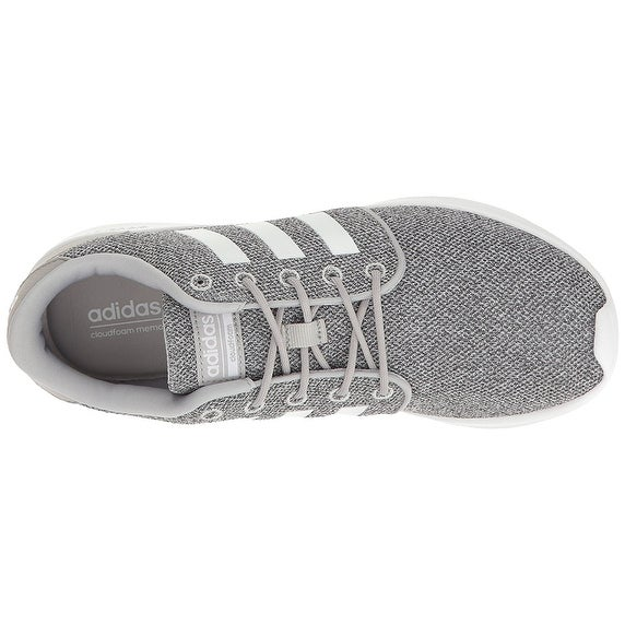 newest collection c5c44 c332f Shop adidas NEO Women s Cloudfoam Qt Racer w Running-Shoes, Clear Onix White  Light Onix - Free Shipping Today - Overstock - 18280348