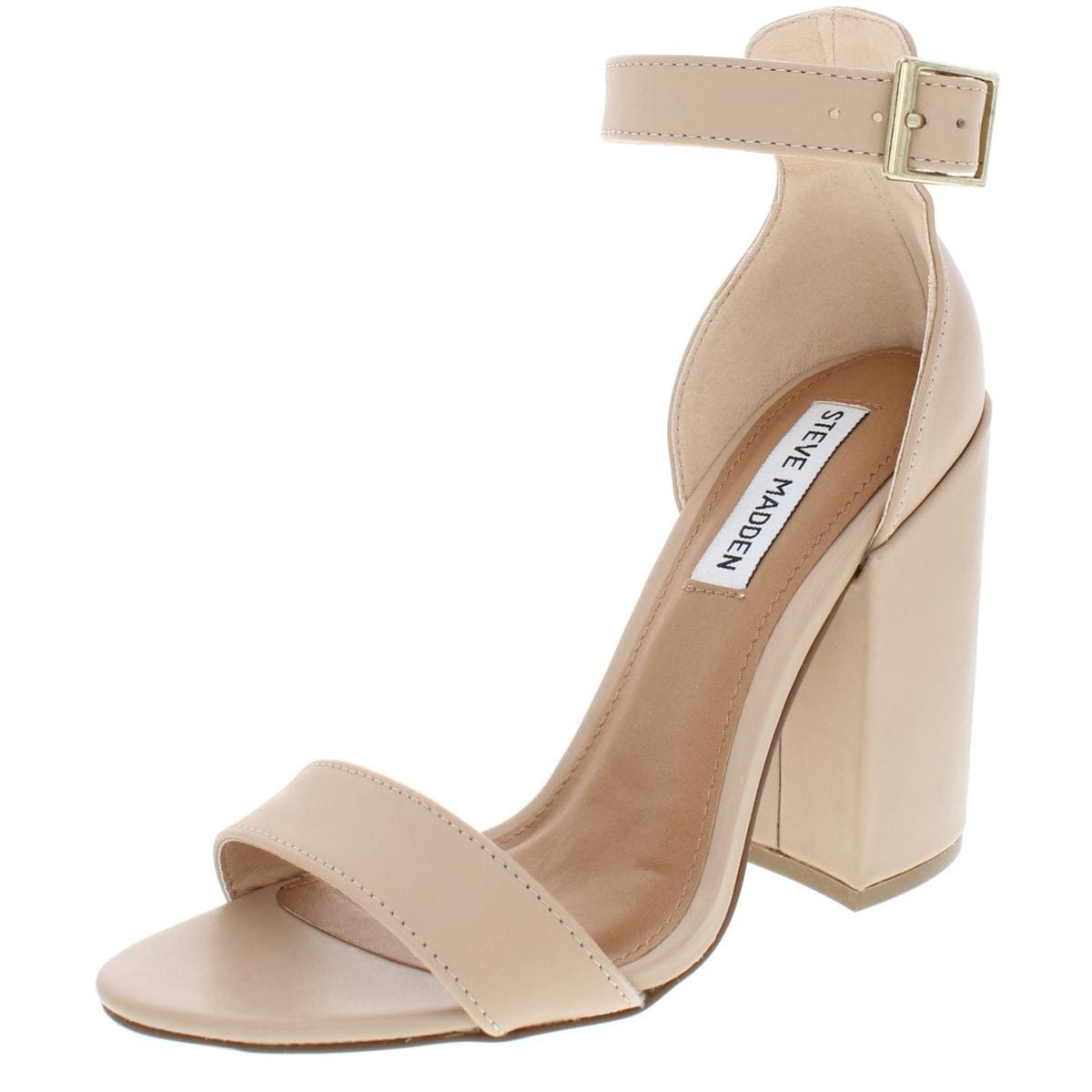 a0e96460462 Shop Steve Madden Womens Ironic Dress Sandals Open Toe Block Heel - Free  Shipping On Orders Over  45 - Overstock - 27132570