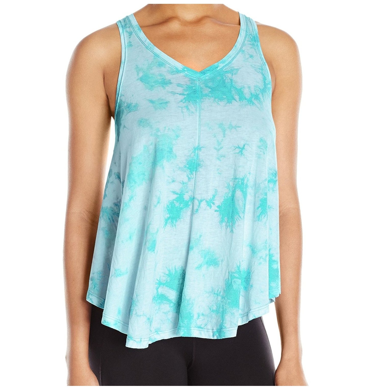 8b9ac4d37d0d0 Shop Calvin Klein Performance NEW Blue Womens Size Medium M Tie-Dye Tank Top  - Free Shipping On Orders Over  45 - Overstock - 20314565