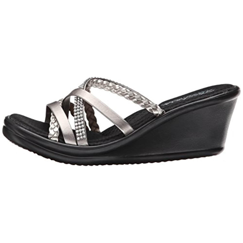 e4c76b3fe6b4 Shop Skechers Cali Women s Rumblers-Wild Child Wedge Sandal