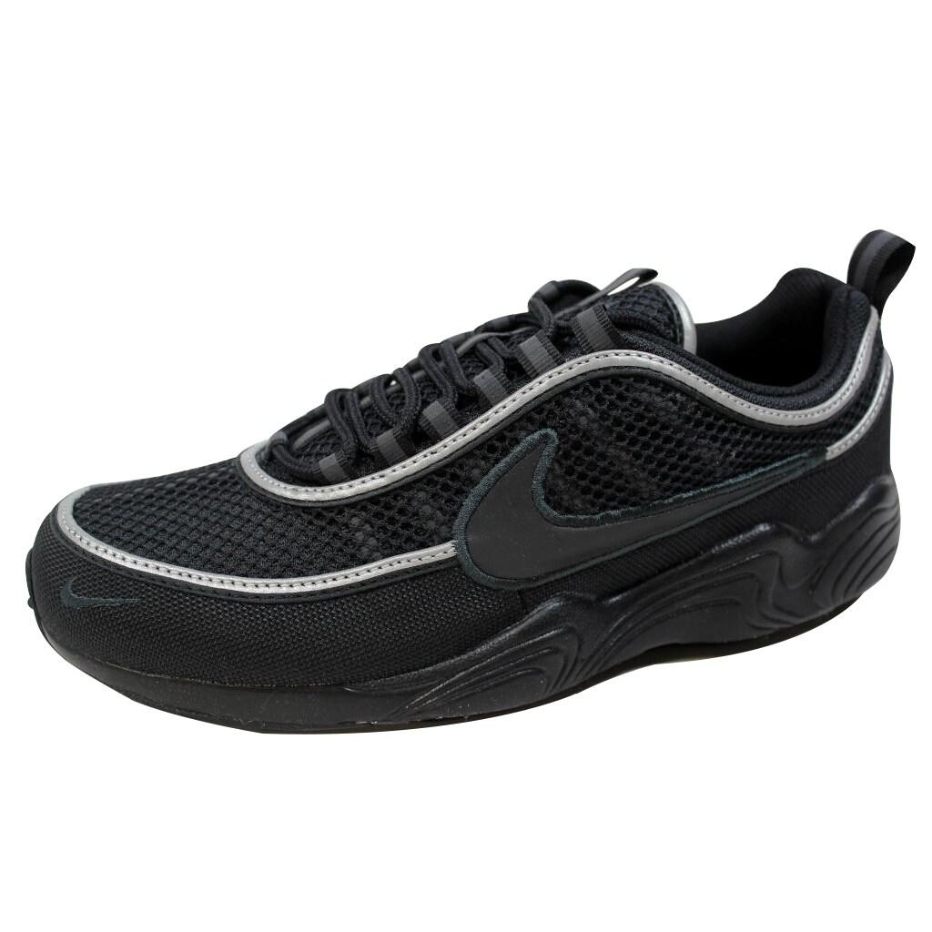 6c038570f2245 Shop Nike Men s Air Zoom Spiridon  16 Black Black-Anthracite 926955 ...