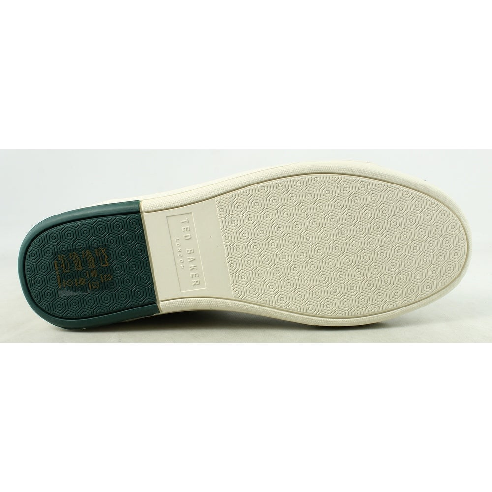 08450b7bd Shop Ted Baker Mens Alcaeus 2 WhiteLeather Fashion Shoes Size 11 - Free  Shipping Today - Overstock - 22900241