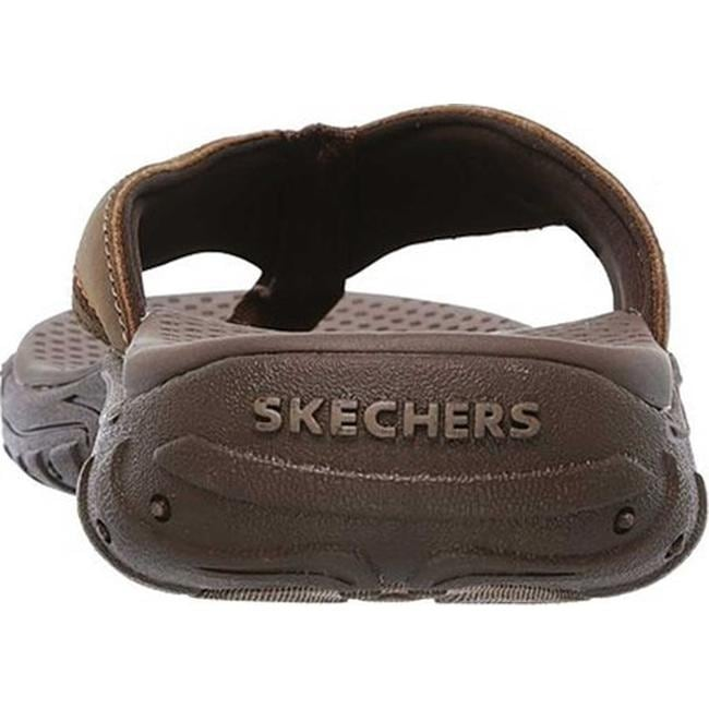 9eb9bb3aad47 Shop Skechers Men s Relaxed Fit Reggae Cobano Thong Sandal Brown - On Sale  - Free Shipping On Orders Over  45 - Overstock - 19774681